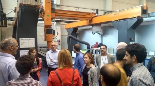 partners visit lortek facilities