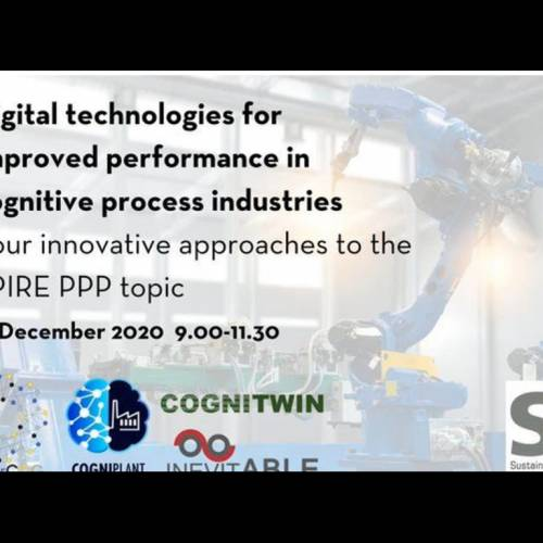 Watch our webinar on digital technologies in cognitive process industries